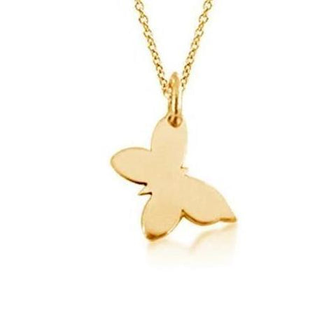 The Butterfly Necklace - Gold