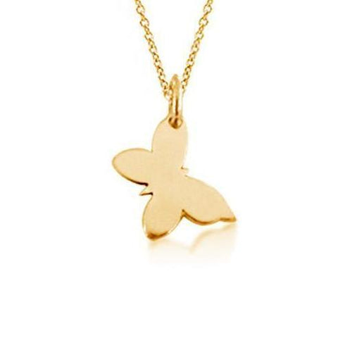 Image of The Butterfly Necklace - 14k Gold