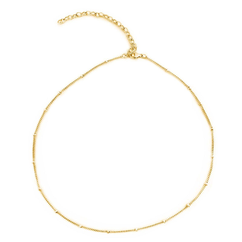 Gold-Filled Choker - tinytags