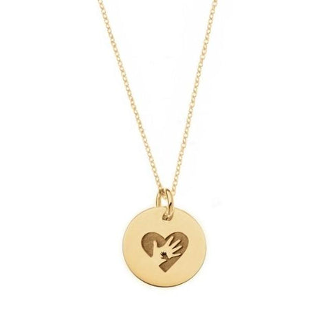 The Tiny Miracles Foundation Necklace in Gold - tinytags