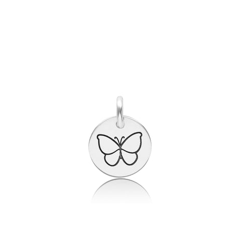 Image of Sterling Silver Butterfly Charm