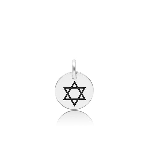 Image of Sterling Silver Star of David