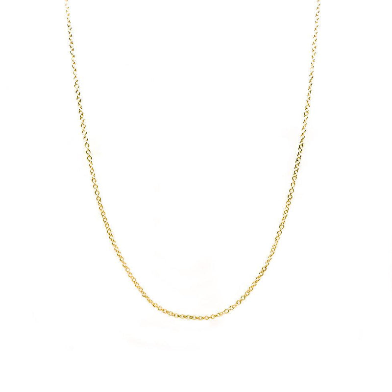14k Gold Diamond Cut Chain