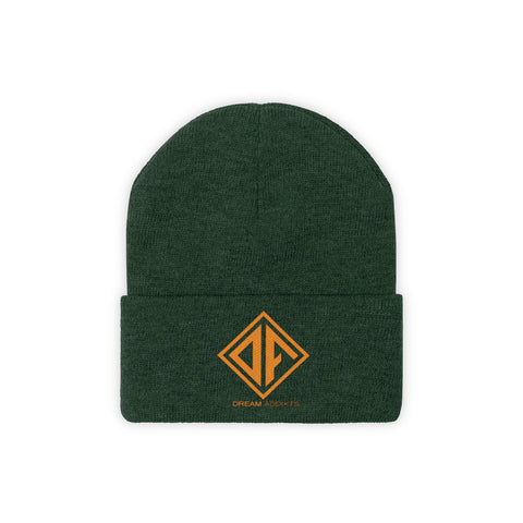 Green & Orange Dream Addikts Beanie