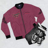 DA Dream On Bomber Jacket - Burgandy