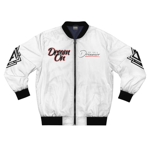 DA Dream On Bomber Jacket - White