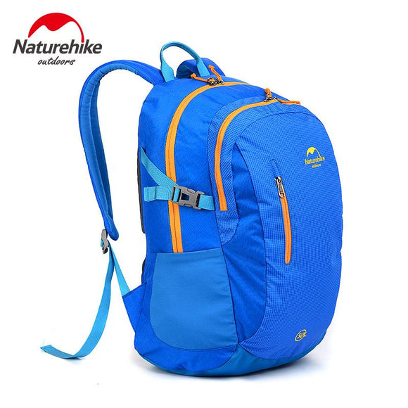 NatureHike Female Backpack Brand Waterproof Bag Athletic Men Bright Cycling Hiking Rock Climbing Sport Women Backpacks 4 Colors