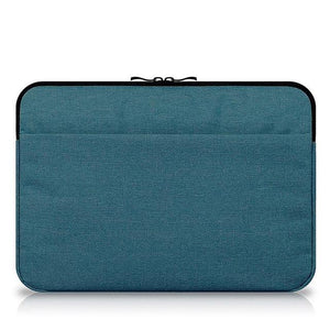 Canvas Sleeve Laptop Bag For Macbook Air 11 12 13 15 Inch Zipper Case For Mac For Lenovo Notebook Mouse Tablet Carry Pouch Cover