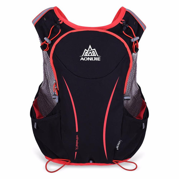AONIJIE Men Women Lightweight Trail Running Backpack Outdoor Sports Hiking Racing Bag With Optional Hydration Water Bag Bottles