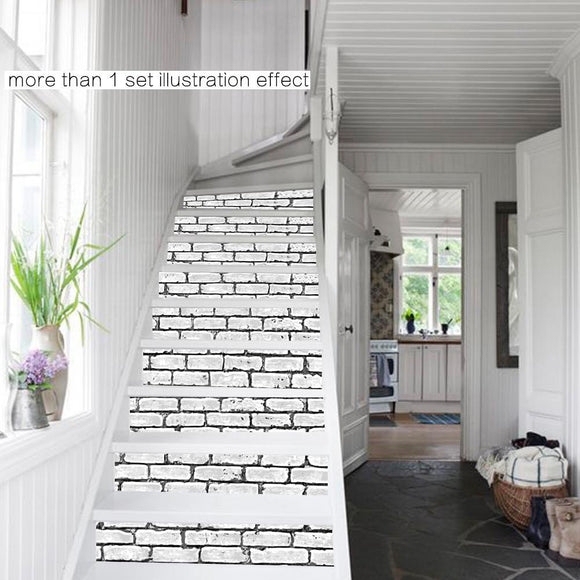 DIY Stair Sticker Steps Sticker Home Decor Ceramic Tiles Patterns Removable pegatinas de pared