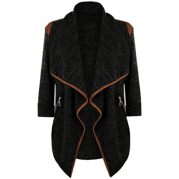 Winter Coat - Vintage Knitted Long Cardigan