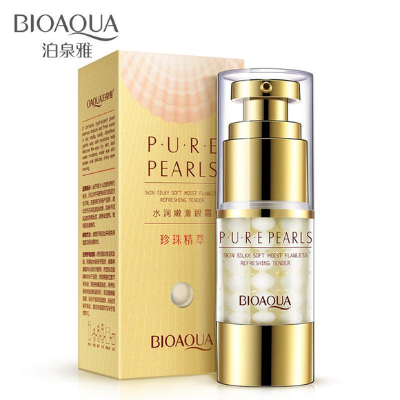 BIOAQUA Eye Essence Pure Pear Eye Cream Anti Wrinkle Moisturizing Dark Circle Lift Firming Treatment Skin Care Makeup Set 25g