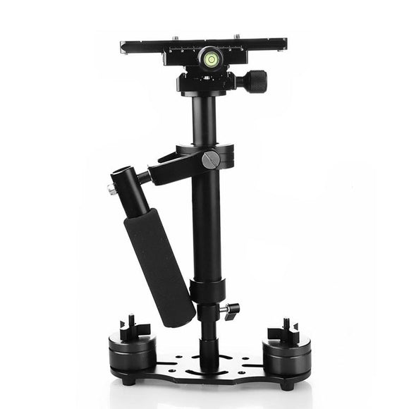 S40+ 0.4M 40CM Aluminum Alloy Handheld Steadycam Stabilizer for Steadicam for Canon Nikon GoPro AEE DSLR Video Camera