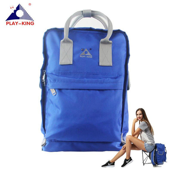 PLAYKING Outdoor Sport Fishing Backpack With Folding Chair Nylon Waterproof Women Bags For Hiking Camping Traveling  Man