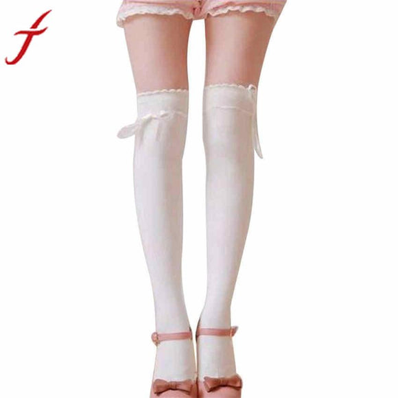 8c7459da15144 JECKSION Womens Over the Knee Girls Sexy Cotton High Thigh High Hosiery  Stockings #LYW