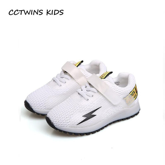 CCTWINS KIDS 2018 Spring Girl Fashion Led Light Sneaker Baby Boy Sport Trainer Children Pu Leather Casual Shoe Toddler F2186