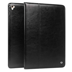 QIALINO Luxury Genuine Leather Smart Tablet Case for iPad Pro 9.7 Flip Stents Dormancy Stand Ultrathin Bag Cover for iPad Air 2