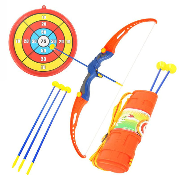 Children's Safety Bows and Arrows Parenting Sucker Shooting Outdoor Sports Fitness Equipment Simulation Archery Kit sports,shoot