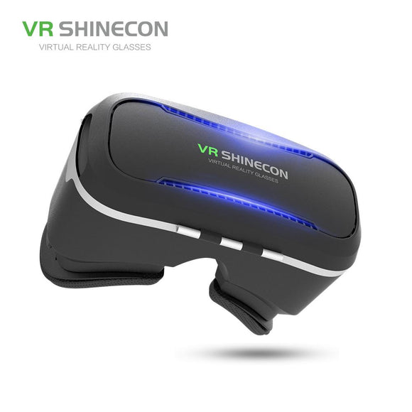 VR SHINECON 3D Virtual Reality Headset VR Glasses SC-G02 VR Cardboard Box For 3.5-6 Inch For Ios Andriod Smartphone Games Films