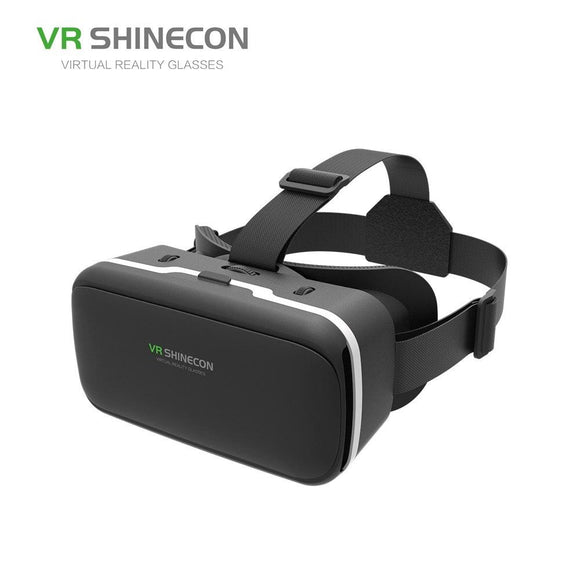 VR SHINECON 3D Virtual Reality Mobile VR Glasses Headset Cardboard Helmet SC-G04 For 3.5-6' Smartphone VR Games Video Films