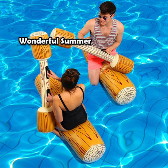 4 Pieces/set Joust Pool Float Game Inflatable Water Sports Bumper ToysParty Gladiator Raft Kickboard Piscina,HA049