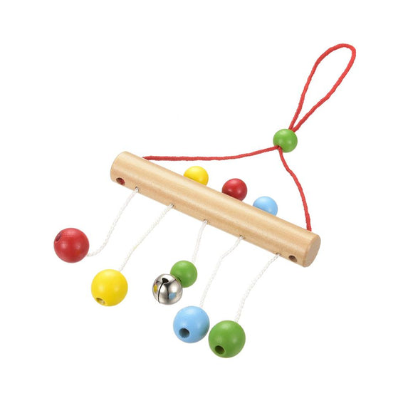 1 Piece Baby Bed Decor Rattles Colorful Ball Hanging Bell Kids Fun Mobiles Bedding Toy P0
