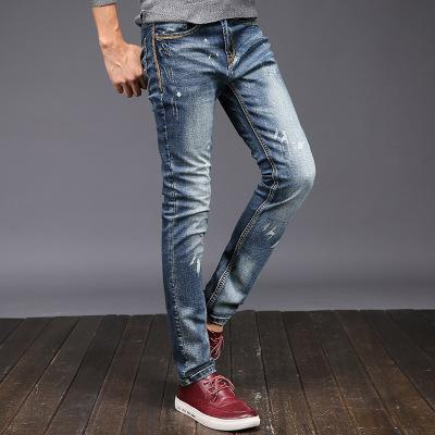 2018 Fashion solid color jeans TWY
