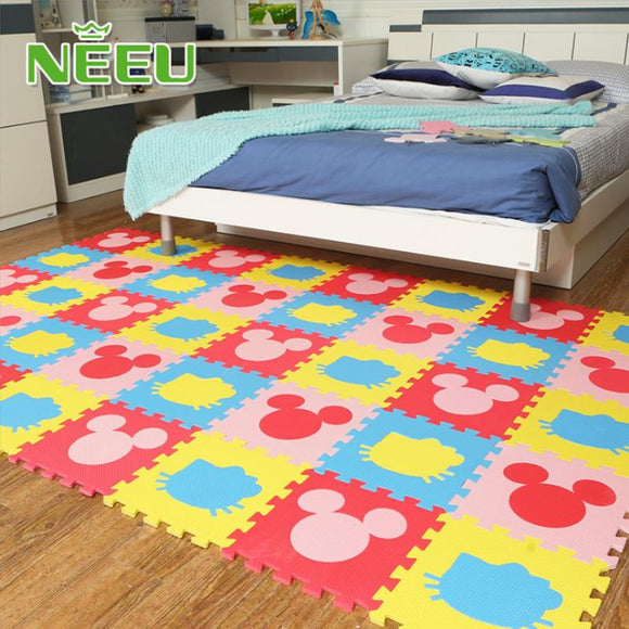 36 tiles NEEU Good Quality Baby Play Mats Fun Puzzle Eva Foam Playmat Kids Children 30*30*1cm Floor Carpet Ground Mattress