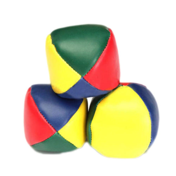 New Creative Outdoor Toys Cartoon Smile Juggling Balls Classic Sandbags Bean Bag Learn To Juggle Magic Clown Striped