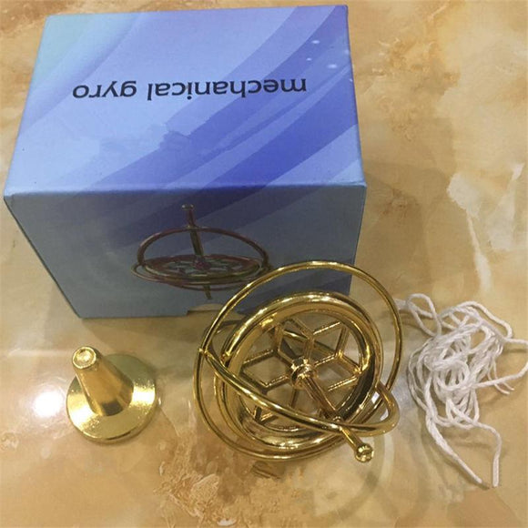 1pc Metal Gyroscope Gyro toys classic traditional educational High Quality creative experiment magic gift child boys gift