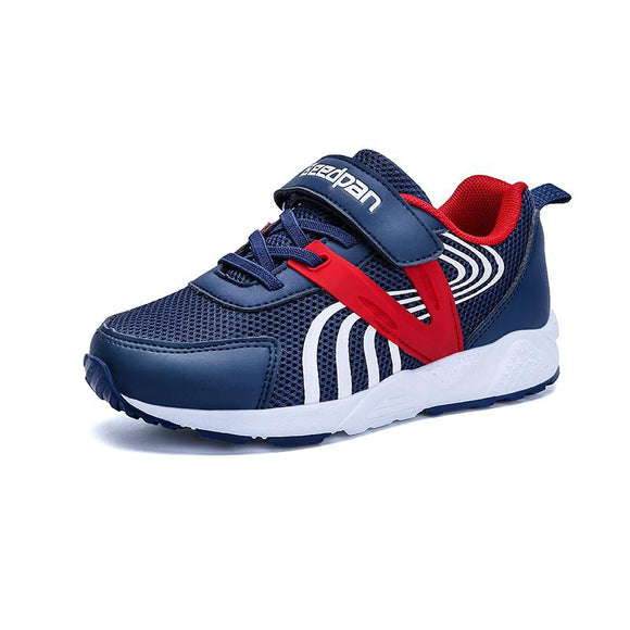 Spring Kids Sneaker For Boys Anti-slippery Children's Shoes Hook & Loop Breathable Autumn Toddler Shoes Flat Boys Shoes Sport