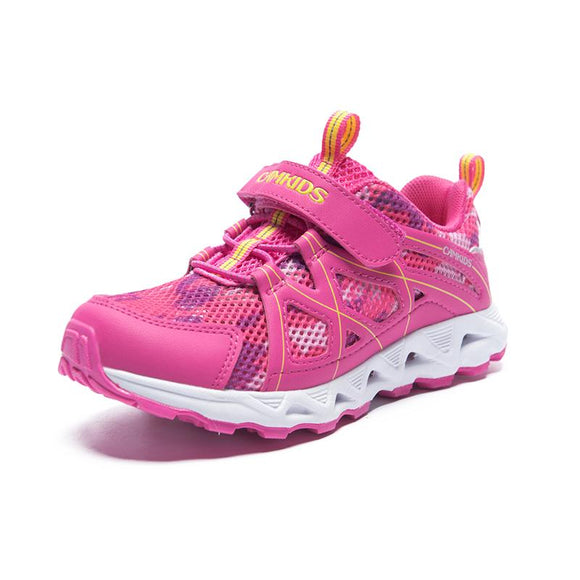 CAMKIDS Sneaker For Girls Baby Stable Running Shoes Breathable Soft Toddler Shoes Girls Message Bright Colorful Children's Shoes