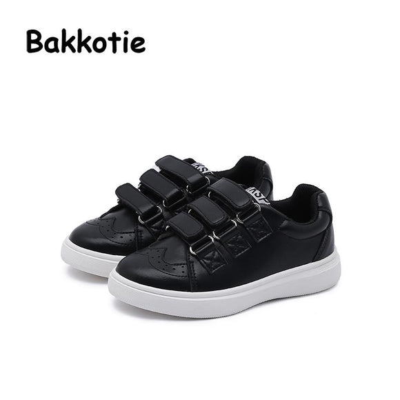 Bakkotie 2018 Spring Baby Boy Microfiber Fashion Child Shoe Leisure Kid Loop Toddler Girl Casual Breathable Sneaker Trainer