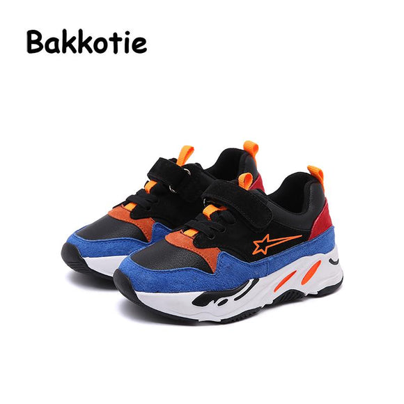 Bakkotie 2018 Spring Autumn Baby Fashion Child Boy Leisure Shoe Girl Star Casual Breathable Sport Sneaker Kid Trainer Toddler