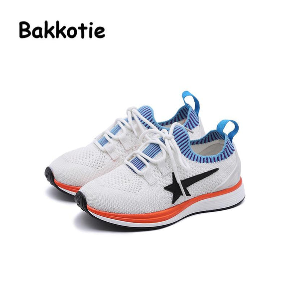 Bakkotie 2018 New Spring Baby Fashion Child Shoe Leisure Kid Elastic Band Toddler Girl Casual Breathable Sneaker Trainer Soft