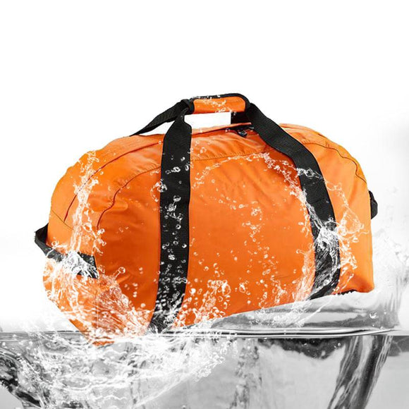 Large Sport Duffel Bag Waterproof Weekend Carry On Luggage Gym Gear Bag with Shoulder Strap Travel Storage Tote  Water Resistant