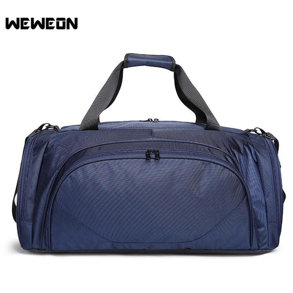 Hot Selling Unisex Sports Bag for Team Training Man Outdoor Sports Gym Bag Women Fitness Handbag Large Shoulder Totes 60x28x30cm