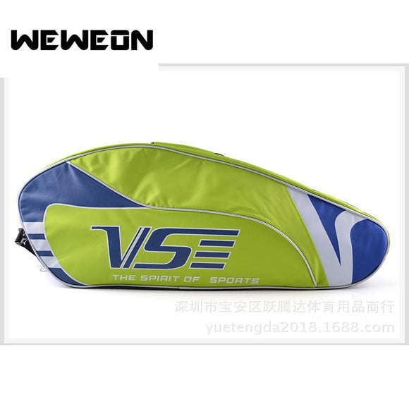New Style Unisex Sports Racket Bag Badminton Single Shoulder Srotage for Racket Tennis Bag