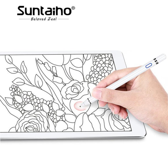 For Apple Pencil Suntaiho stylus capacitance touch Pencil for apple ipad with retail Package for apple pen for Tablet devices