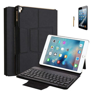 Kemile Wireless Bluetooth Keyboard Case for iPad 2017 2018 Cover with Stand for iPad pro 9.7 inch Smart Cover Removable keypad