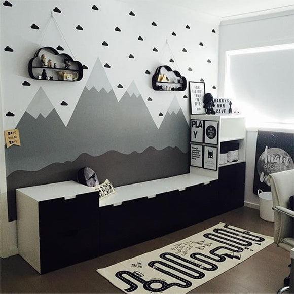 Little Cloud Wall Decal Sticker Set