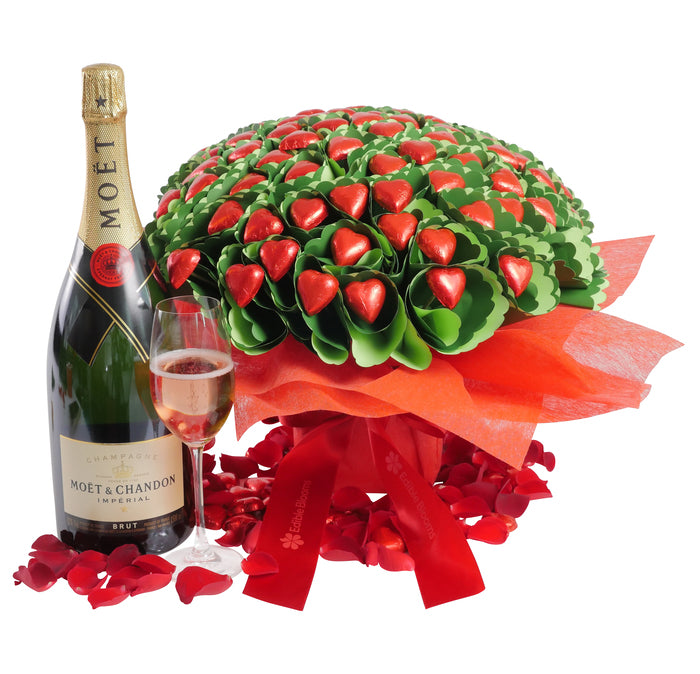 Moet Magnum Chocolate Bouquet Romance Gift