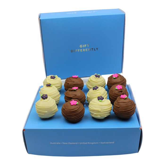 Lemon & Chocolate Cake Pop Gift Box