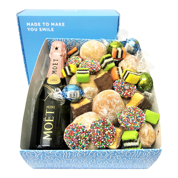 Pink Moet Luxury Donut Gift Box
