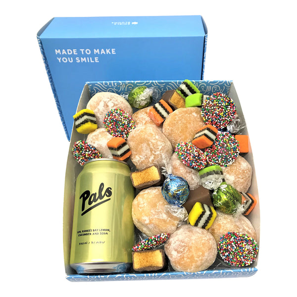 Pals Gin and Donut Gift Box