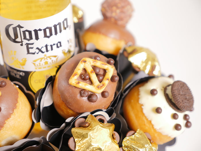 Donut and Corona Bouquet