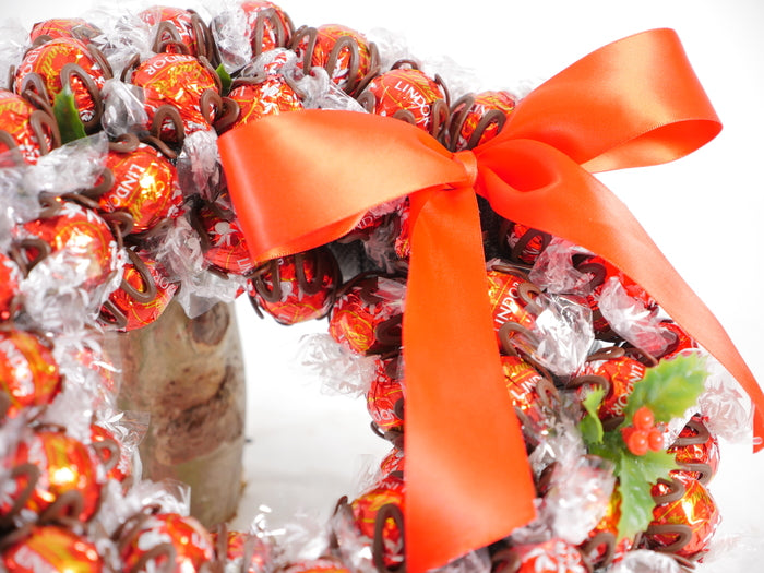 Traditional Chocolate Christmas Wreath