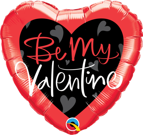 Be My Valentine Helium Balloon (extra)