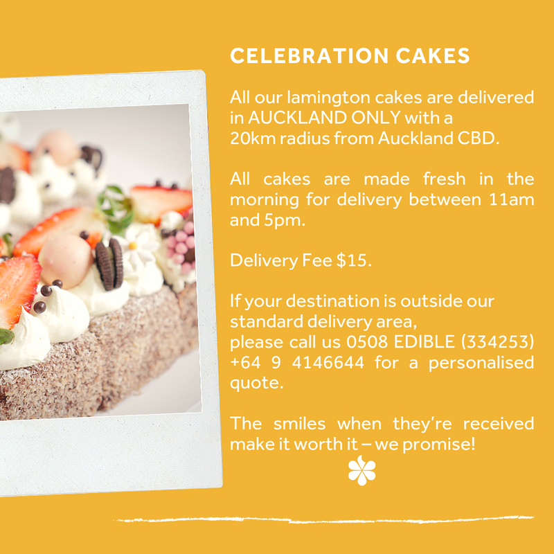 Lemon and Chocolate Cake Pop Gift Box - Auckland only