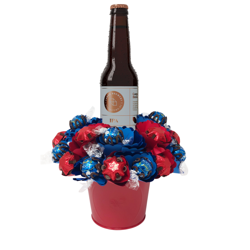 Craft Beer Chocolate Bouquet Small
